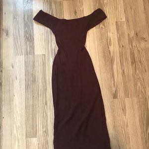 American Apparel Cross back Midi Dress